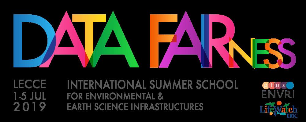 INTERNATIONAL SUMMER SCHOOL Data FAIRness in Environmental & Earth Science Infrastructures