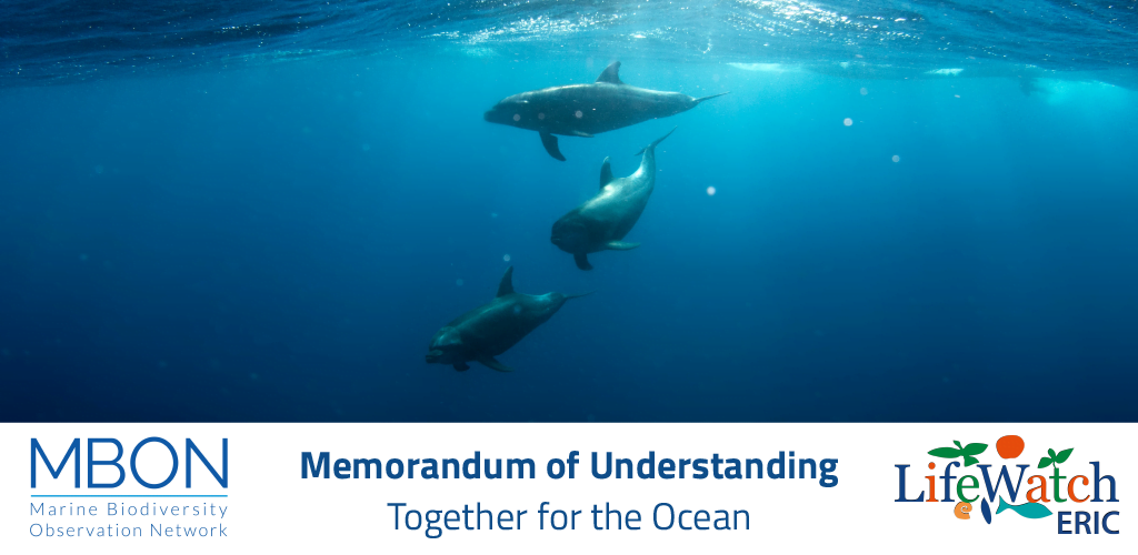 MOU with Marine Biodiversity Observation Network