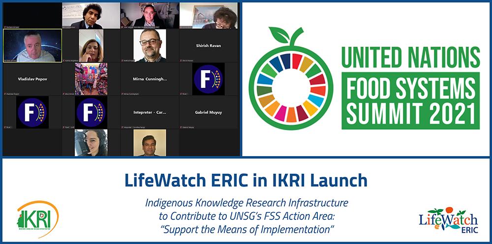 LifeWatch ERIC in IKRI Launch
