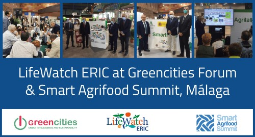 LifeWatch ERIC at Greencities Forum & Smart Agrifood Summit, Málaga